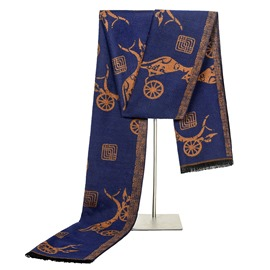 Ericdress High Quality Imitation Silk Autumn&Winter Scarf for Men