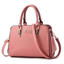 Ericdress Well Match Solid Color PU Handbag