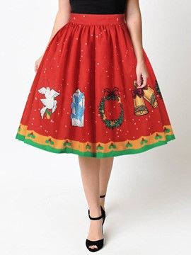 Ericdress Christmas A-Line Womens' Ball Gown
