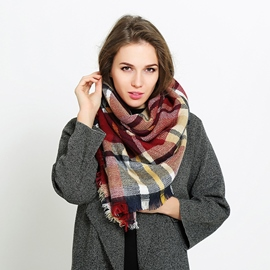 Ericdress British Grid Women's Scarf