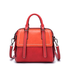 Ericdress Vintage Color Block Women Handbag