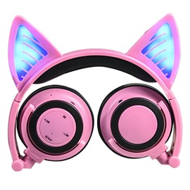 Ericdress LINX Wireless Bluetooth Headphone with Lighting Cat Ear