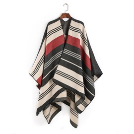 Ericdress New Style Striped Thicken Warm Scarf