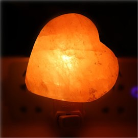 Ericdress Romantic Heart Himalaya Salt Craytal Wall Lamp