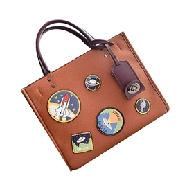 Ericdress Personality Badge Decoration Women Handbag