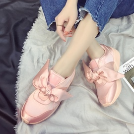 Ericdress Bowknot Decorated Slip-On Plain Women's Flats