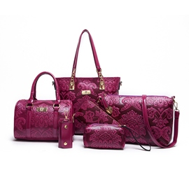 Ericdress Vintage Chinese Style Women Handbag (6 Bag Set)