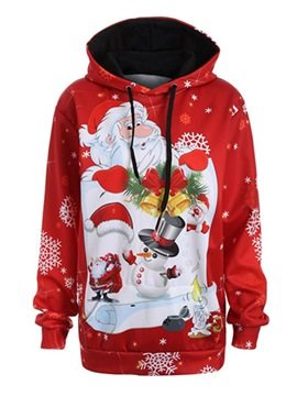 Ericdress Loose ChristmasThick Ugly Cool Hoodie