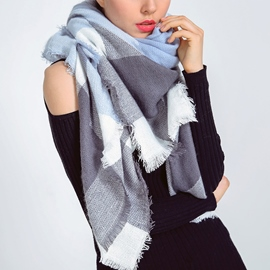 Ericdress Geometry Six Color Imitation Cashmere Women's Scarf