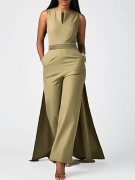 Ericdress Wide Leg Full Length Women's Jumpsuit