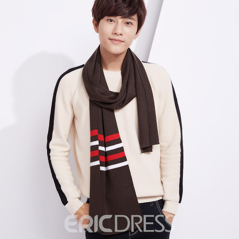 Ericdress Stylish Long Imitation Cashmere All Match Scarf for Men