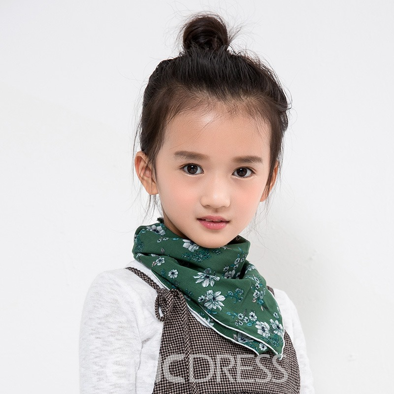 Ericdress Many Patterns All Match Triangle Towel Kid's Scarf