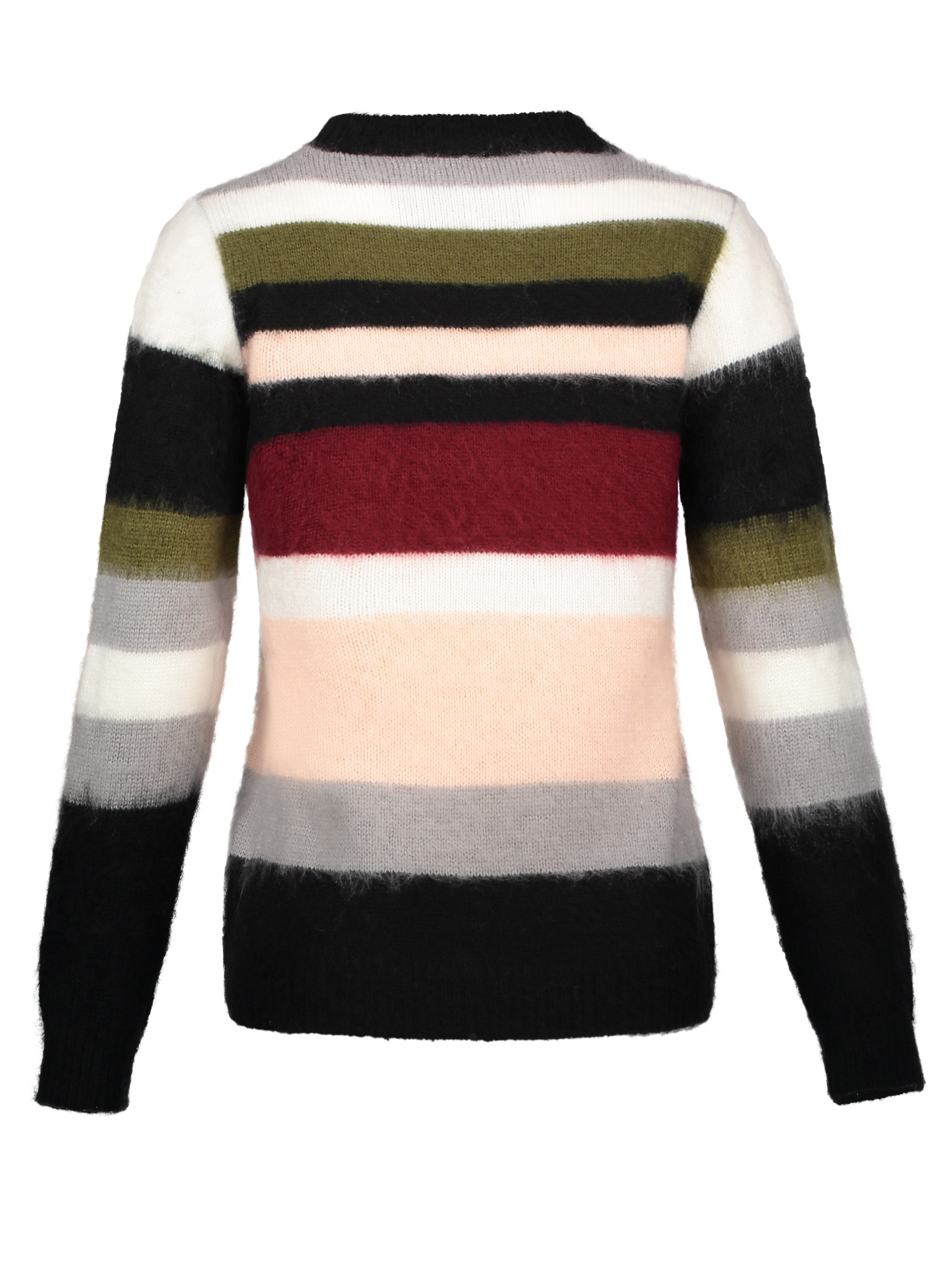 Ericdress Color Block Stripe Pullover Women's Sweater