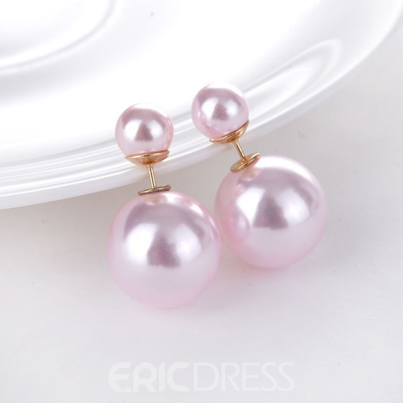 Ericdress Sparkling Imitation Pearl Women's Stud