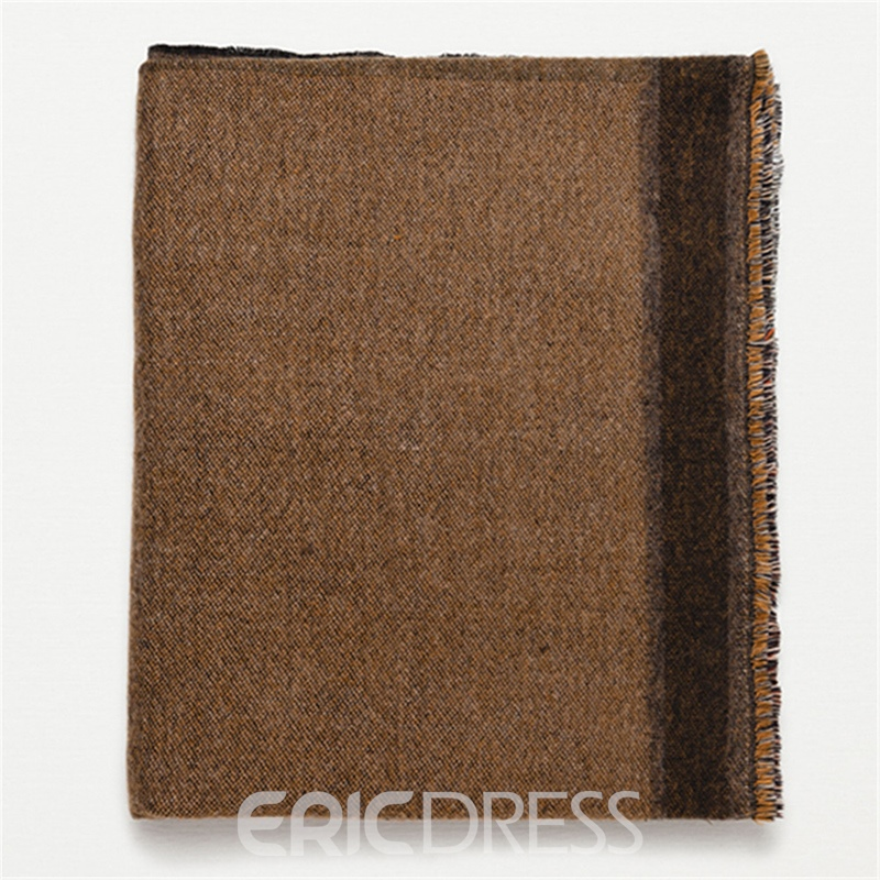 Ericdress Geometry Thicken Warm Scarf for Women