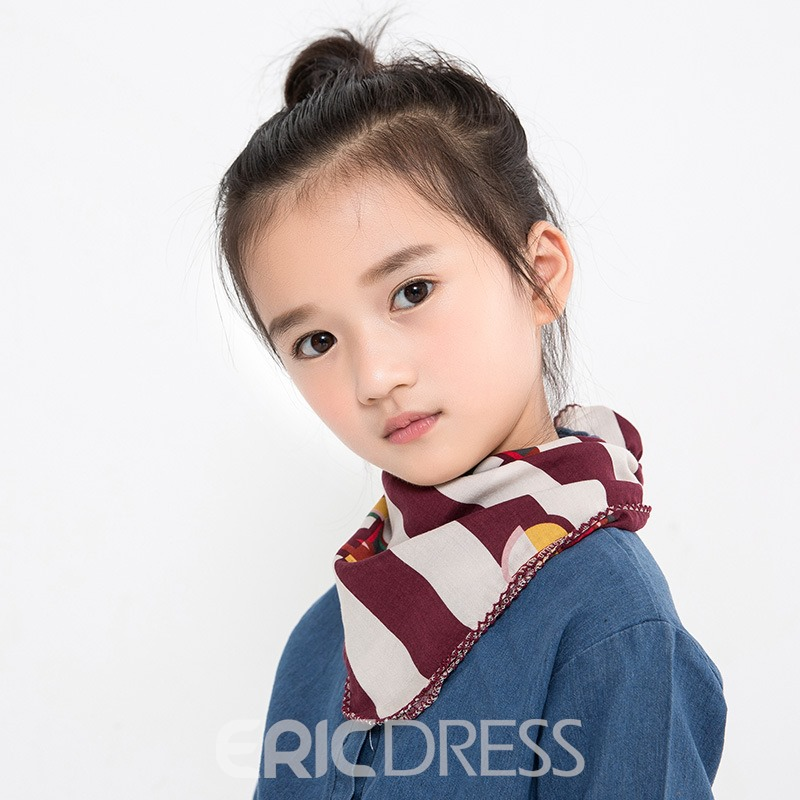 Ericdress Many Patterns Cute Small Scarf for Kid