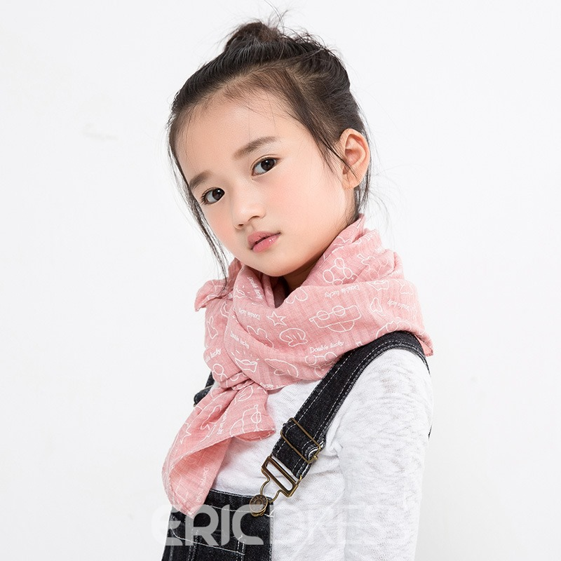 Ericdress All Match Animals Printed Kid's Scarf