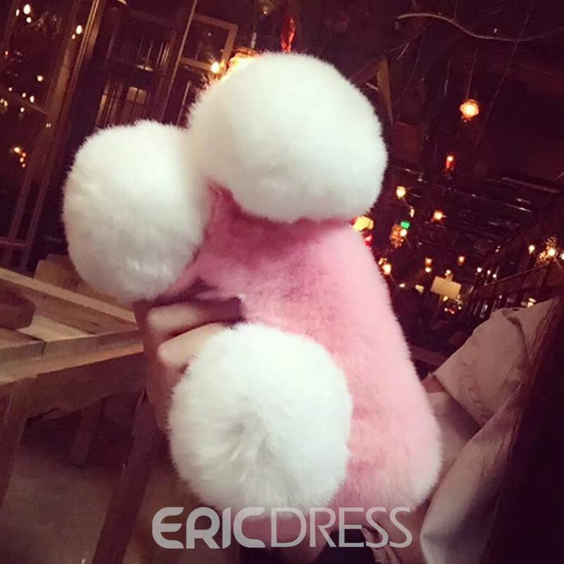 Ericdress Panda Plush Phone Shell
