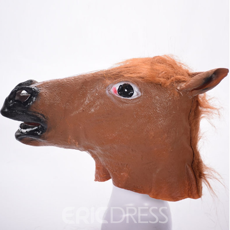 Ericdress Halloween COS Funny Cow Head Party Mask