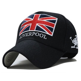 Ericdress Trendy Winter&Autumn Union Jack Outdoor Baseball Cap