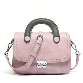 Ericdress Color Block Latch Decoration Crossbody Bag