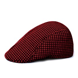 Ericdress Retro Wool Houndstooth Women's Beret Hat