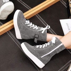 Ericdress Buckle Cross Strap Plain Women's Ankle Boots