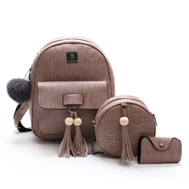 Ericdress Casual Bead Tassel Decoration Women Bag Set