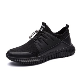 Ericdress Trendy Elastic Band Patchwork Men's Athletic Shoes