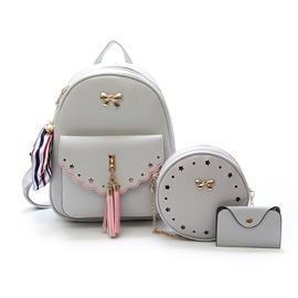 Ericdress Korean Style Bowknot Decoration Women Handbag