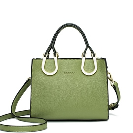 Ericdress Ladylike Solid Color Zipper Female Handbag