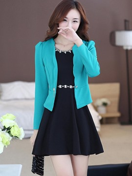 Ericdress Jacket and Beading Dress Women's Suit