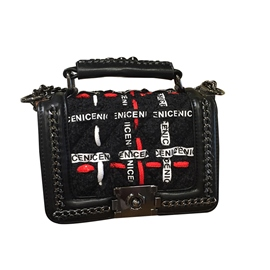 Ericdress Personality Letter Pattern Design Crossbody Bag