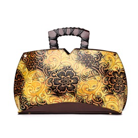 Ericdress Chinese Style Vintage Floral Pattern Handbag