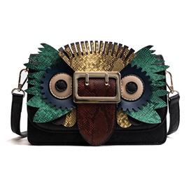 Ericdress Personality Owl Design Crossbody Bag