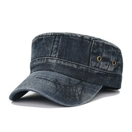 Ericdress Sport Washed Denim Peaked Cap