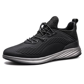 Ericdress Plain Elastic Band Mid-Cut Men's Athletic Shoes