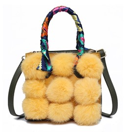 Ericdress Korean Style Ball Decoration Women Handbag