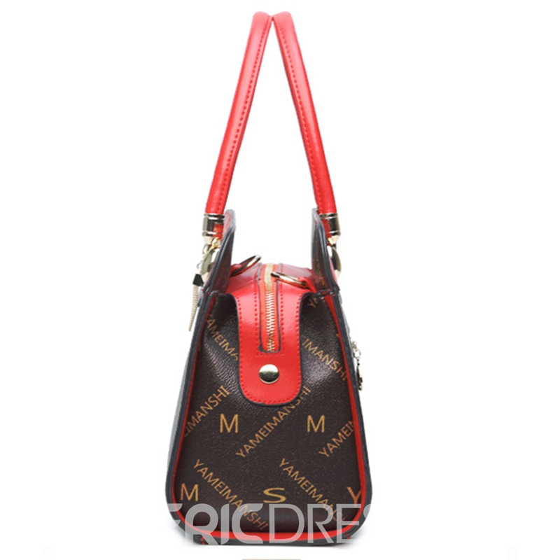 Ericdress Letter Prints Design Women Handbag