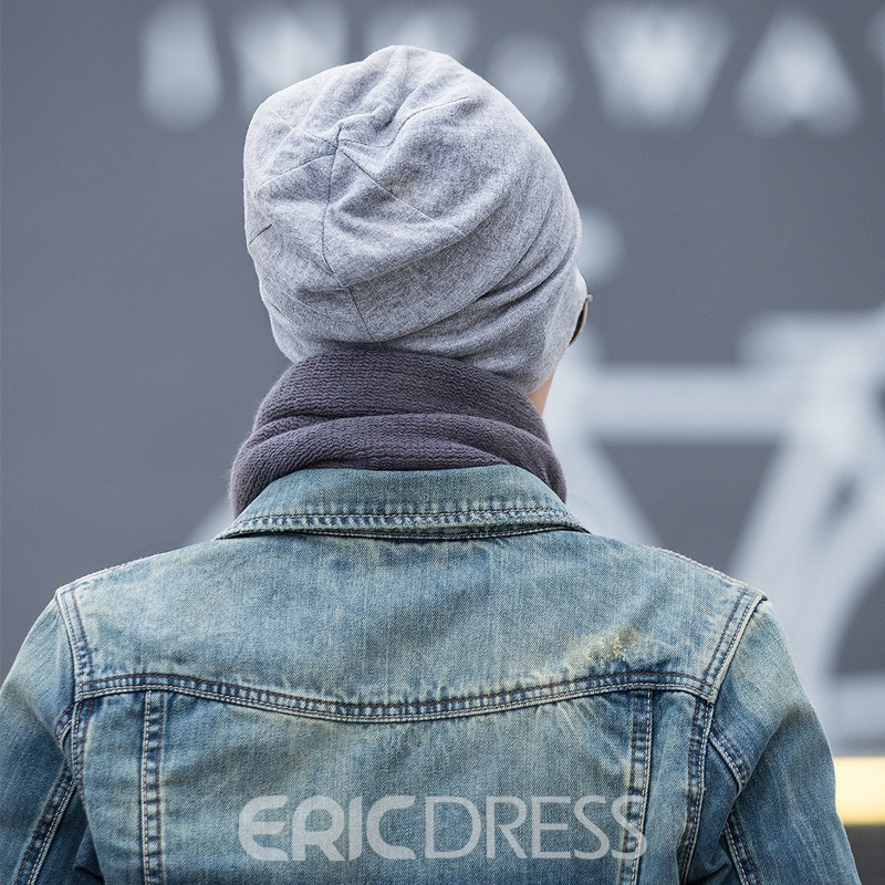 Ericdress Korean Style Star Pinted Concise Men's Hat