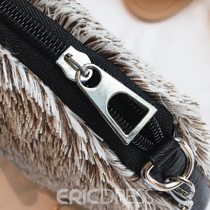 Ericdress Lovely Design Circular Ring Handle Crossbody Bag