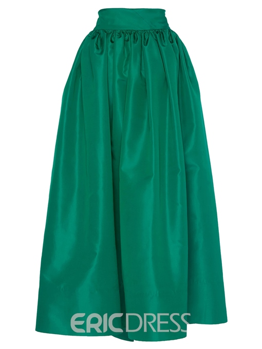 Ericdress Ankle-Length Pocket A-Line Skirt