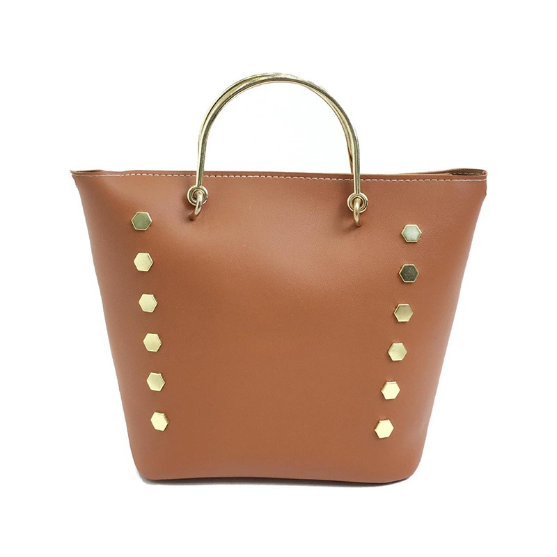 Ericdress Fashion Rivet Decoration Women Tote