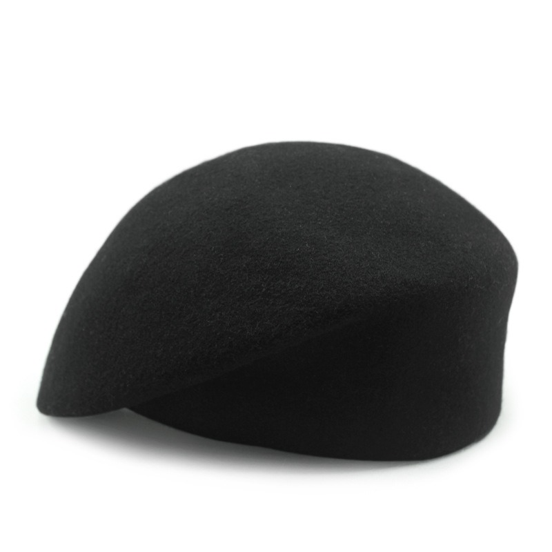 Ericdress All Match Wool Pure Color Beret Women' s Hat