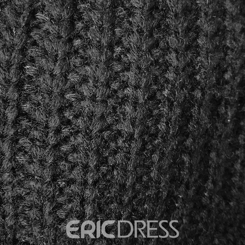 Ericdress Warm Pure Color Knitting Leisure Men's Hat