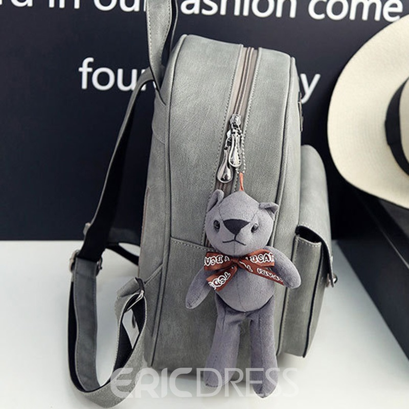 Ericdress Vintage Latch Decoration Women Backpack