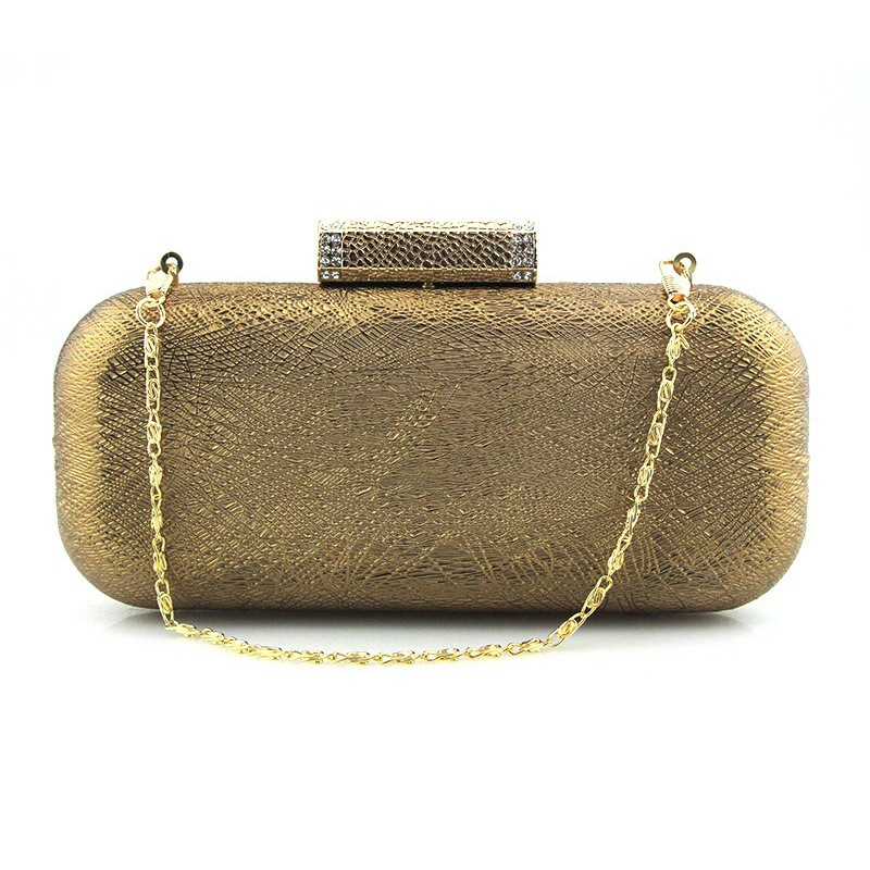 Ericdress Solid Color PU Evening Clutch
