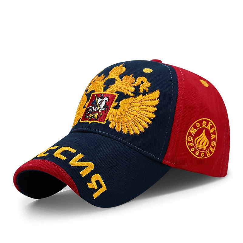 Ericdress Gold Double-Headed Eagle peaked Hat Leisure Hat