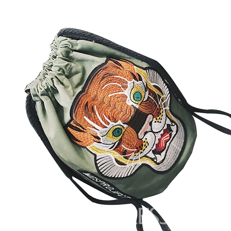 Ericdress Personality Tiger Pattern String Shoulder Bag