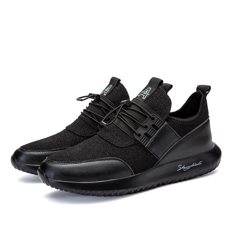 Ericdress Breathable Elastic Band Plain Men's Athletic Shoes